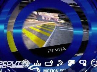 PS Vita Trailer de WipeOut 2048