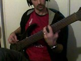 Stream Of Consciousness DREAM THEATER Bass Cover By FA on 6 Strings Fretless, 8 bits & Guitar Pro