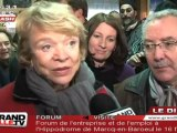 Présidentielles 2012 : Eva Joly en campagne à Roubaix