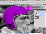 Formation Photoshop 11d par thierry Dambermont - tutorial en francais - Colorisation dimages grises (14 min + 10 min)
