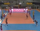 Volley - Ligue AM - Replay Toulouse / Cannes - vendredi 10 février 20h