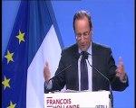 Discours de François Hollande à Créteil