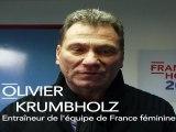 Olivier Krumbholz, entraineur de Handball, soutient François Hollande