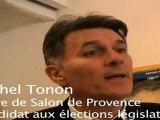 """""""Nous sommes le parti socialiste !"""", Michel Tonon"""