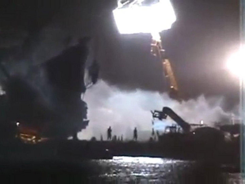 Pirates of the Caribbean - On Stranger Tides - BTS - Filming The Queen Annes Revenge #I