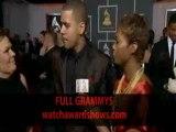 J. Cole Grammy Awards 2012 Red carpet interview HD 54th Grammys