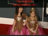 Little Ellen princesses at Grammy Awards 2012 HD 54th Grammys