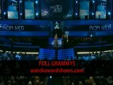 Bon Iver Best New Artist acceptance speech Grammy Awards 2012 HD 54th Grammys
