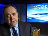 Alex Salmond on the Scottish independence referendum