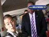 Justin Timberlake And Jessica Biel Arrive At LAX Saturday
