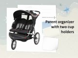 Baby Trend Double Jogging Stroller - Baby Trend Expedition Double Jogger Stroller,