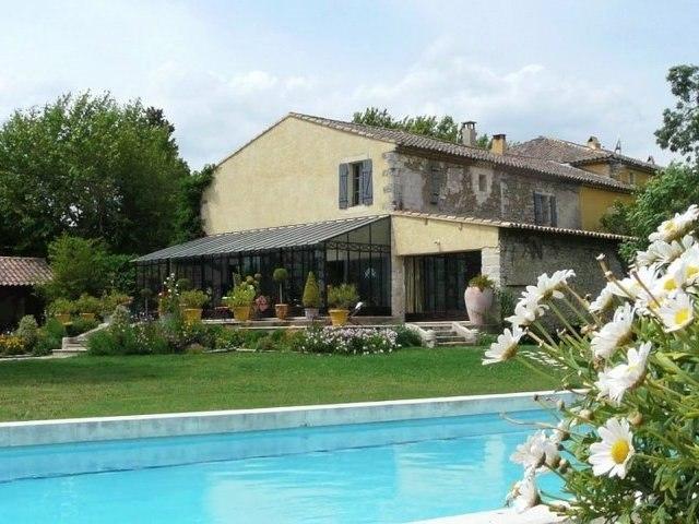 Achat vente villa - mas campagne avignonnaise - ref 794 - TraditionSud