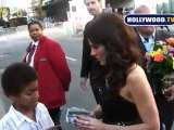 American Idol Judge Kara DioGuardi Takes Photos With Fans