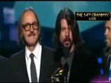 Dave Grohl Speech - Grammys 2012 Foo Fighters Win Best Rock Performance for _Walk_