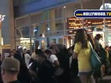 Anna Faris Leaves Funny People Premiere.
