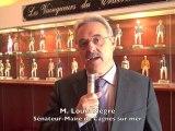 Jumelage hippodrome Cagnes sur mer avec Kassar Saïd en Tunisie. Interview : M. Louis Nègre Sénateur Maire