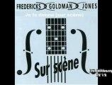 INEDIT- tour 1991 Je te donne fredericks Goldman Jones sur scène