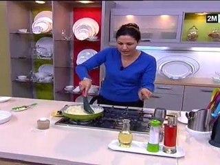 chhiwat choumicha 2012 gratin poulet légumes et chou-fleur