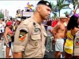 Brezilya polisi Rio Karnavalı için greve ara verdi