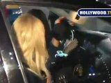 Paris Hilton At a Hollywood Night Club in Hollywood.