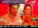 Sushant n Ankita On Star Sansaar 15th Feb 2010