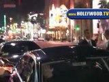 Costas Mandylor Leaves SAW V Premiere in Hollywood.