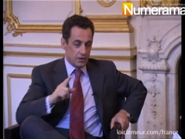 Nicolas Sarkozy / Loïc Le Meur