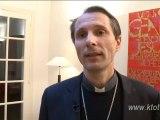 Mgr Nicolas Brouwet, évêque de Tarbes et Lourdes