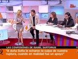 Susana Griso piernas y escote en Espejo Publico 15-2-2012