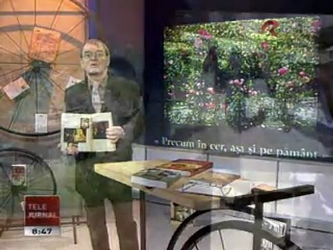 La TVR despre Precum in Cer de Cristina Nichitus Roncea