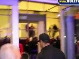 Denzel Washington Enters Staples Center