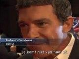 Antonio Banderas komt niet van Salma Hayek af