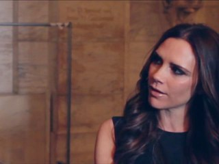 Victoria Beckham talks about her A/W 2012 show – and baby Harper
