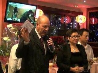 Baguettes et Dragon d'Or 2012 Aux Trois E Lens par la Fédération Internationale du Tourisme