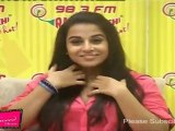 "Dirty Vidya Balan Promotes ""Kahaani"" At Radio Mirchi"