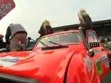Départ du Rallye Raid 4L Trophy