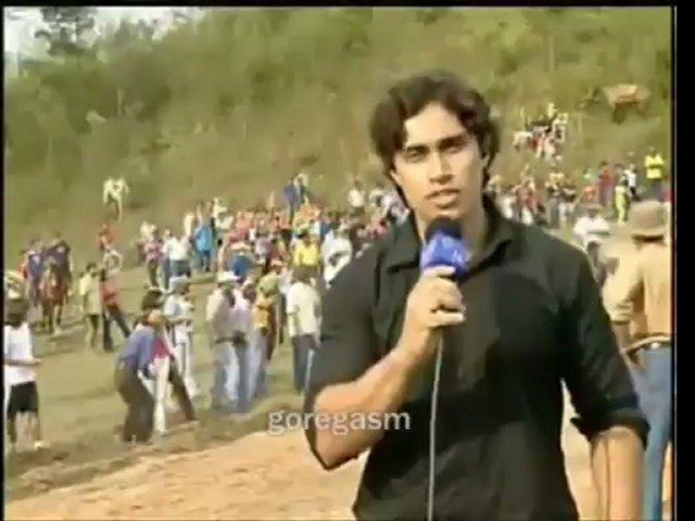 Unlucky reporter