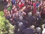 COPS BEATING STUDENTS! COPS BEATING STUDENTS! COPS BEATING STUDENTS! Occupy Protest Berkeley