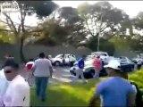 Video de Julio Cesar Sarmiento siendo arrollado en el Limón