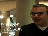 Philippe Besson, écrivain, soutient François Hollande