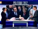 Nicolas Sarkozy cible François Hollande et se pose en candidat proche du peuple