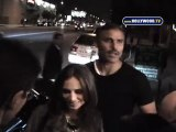 Rick Fox And Eliza Dushku Arrive At The Mint