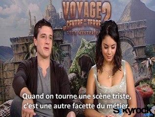 Interview Vanessa Hudgens et Josh Hutcherson (Voyage au Centre de la terre 2)
