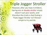 Triple Jogger Stroller-Choosing Best Triple Jogger Stroller