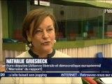 Nathalie Griesbeck, le rapport qui défend Strasbourg sur France3 Alsace - 140212