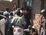 Bednet Distribution in Kanginima, Kakoro, Uganda