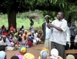 Uganda, Tekwana, Pallisa, Kakoro: Bednet distributions