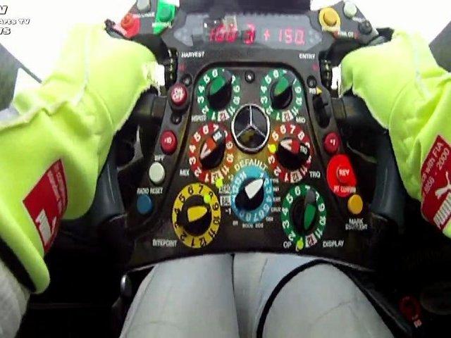 W03 Sneak Preview SIlver Arrow Mercedes-Benz New Race Car GP F1 Auto Racing