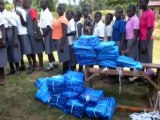 Uganda, Namulonge: Bednet distributions
