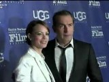 French Stars Jean Dujardin and Bérénice Bejo of The Artist Movie SBIFF 2012 Awards